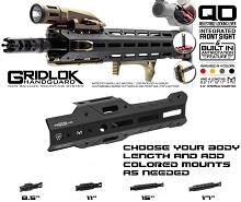 Strike Industries GridLok Handguard Body AR15 MLOK Free Floating M-LOK Rail