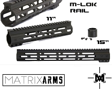 Matrix Arms M-Lok Handguard AR15 11