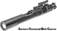 Surefire OBC Optimized Bolt Carrier Group for Direct-Impingement M4/M16/AR-Variant Carbines BCG AR15 AR-15