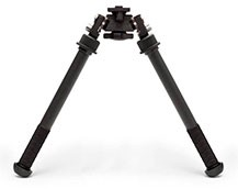 B&T Accushot PSR Atlas Bipod in Tall Height 7075 BT47 NC No Clamp or ADM QD Lever LW17
