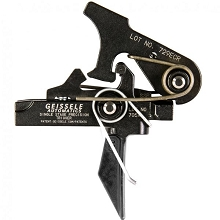 Geissele Flat Bow SD-SSP Single-Stage Precision Trigger