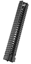Samson Manufacturing STAR-12 Free Float Star Rail AR15 Rifle Length Quad Handguard