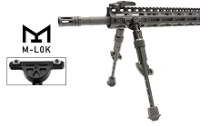 UTG Recon Flex M-LOK Bipod AR15 Side Rail 5.7