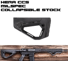 HERA Arms CCS Collapsible Buttstock AR15 Stock MIL-SPEC AR-15