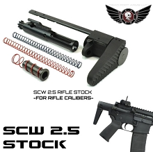 Dead Foot Arms 5.56 SCW 2.5 Stock AR-15 MCS AR15 for Rifle Caliber Deadfoot