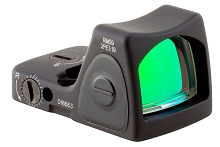 Trijicon 700742 RMR Red Dot Sight 1x Unlimited Eye Relief 1 MOA Black