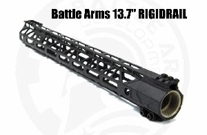 Battle Arms 13.7° RIGIDRAIL M-Lok AR15 BAD Development BATTLEARMS RIGID RAIL