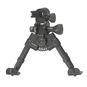 "Versa-Pod 5-7"" Shorty Sniper Bipod Model Steel Ski Foot AR15 Versapod"