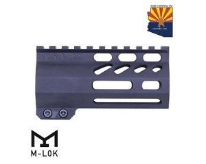 "Guntec USA 4"" Air-LOK Series M-LOK Compression Free Float Handguard"
