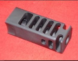 S&J Customs SJC Major 9mm 11 Port Aluminum Compensator