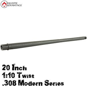 "Ballistic Advantage Modern Rifle Barrel .308 20"" Heavy Profile 1:10 Twist"