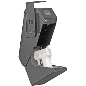 Bulldog Magnum Biometric Pistol Vault Black Drawer Gun Safe With BIOMETRIC or Backup Key
