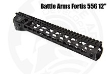 "Battle Arms 12"" Fortis 556 SWITCH Rail AR15 B.A.D. Edition Development"