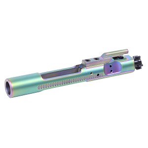 Guntec USA AR-15 Rainbow PVD BCG Bolt Carrier Group Enhanced M16 5.56 AR15 Milspec Chameleon