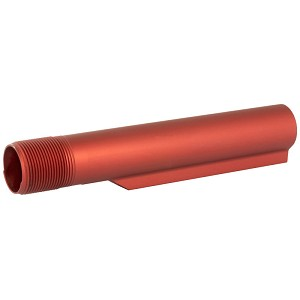 LBE Unlimited Red AR-15 Extension 6 Positions Milspec AR15 Tube