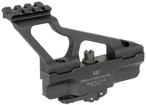Midwest Industries Gen 2 Mini MI-AKSMG2-MR Picatinny Rail Top Side Railed Optic Mount AK47 AK-47