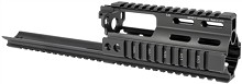 MI SSR SCAR Rail Extension Handguard Quad Midwest Industries