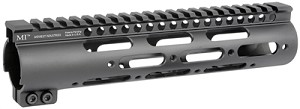 "Midwest MI G3 9.25"" SS-Series One Piece Free Float Handguard"