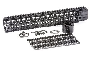 "Spike's Lightweight 13.2"" BAR2 Quad Rail AR15 Tactical Handguard"