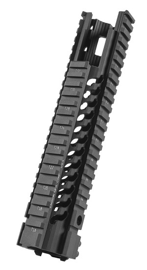 Samson Manufacturing STAR-7-EX Free Float Star Rail AR15 Carbine Extended Quad Handguard