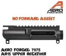 Aero Precision No Forward Assist AR15 Stripped Upper Receiver AR-15