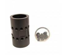 Guntec USA AR15 BARREL NUT ULTRALIGHT JK ALUMINUM AR-15