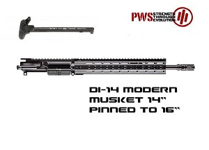 "Primary Weapons 14"" Pinned 16"" 5.56 DI Upper PWS 12 Keymod AR15"