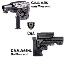 CAA ARSNL AR15 Sharp Shooting Collapsible Carbine Stock Command Arms AR-15 NO LEG