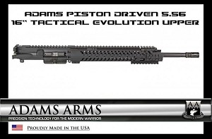 "Adams Arms 16"" MidLength Tactical Evo Piston UA-16-M-TEVO-556"