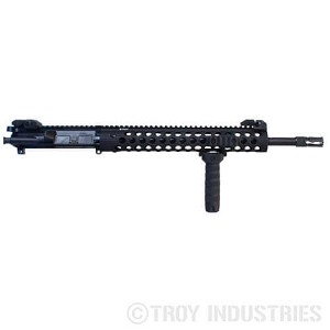 Troy 16″ CQB Complete AR15 Upper Receiver - Lifetime Warranty