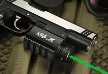 Barska GLX 5mW Green Laser + Rifle Remote Pressure Pad Kit