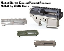 WMD NiB-X Forged Upper Nickel Boron Receiver M4 Ramps AR15 FDE