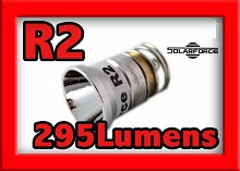 NEW 295 Lumens CREE R2 LED Bulb For Surefire Flashlights