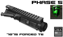 Phase 5 M4 Flat Top Upper AR15 7075 Forged Complete Receiver