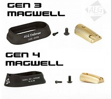 ALG Defense Flared Glock Magwell AFM Gen 3 Mag Supersonic Gen 4