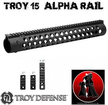 Troy Alpha Battle Rail 15