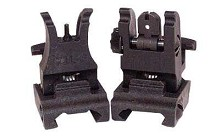 ARMS Polymer Folding Front and Rear Sight Set AR15 BUIS