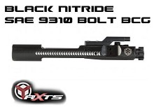 AXTS Black Nitride Bolt Carrier Group Superior AR15 BCG M16