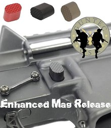 Guntec USA Made AR15 Extended Magazine Release Button AR-15