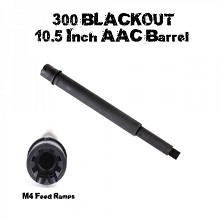 Tiger Rock 10.5 300BLK AAC Blackout AR15 Rifle Barrel Parkerized