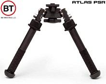 B&T Accushot PSR Atlas Bipod in Standard Height 7075 BT46 NC No Clamp or ADM QD Lever LW17