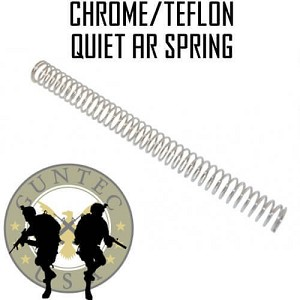 Guntec USA Premium Quiet Chrome Teflon Spring Choose AR15 AR10