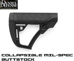 Daniel Defense Stock Collapsible Buttstock AR15