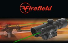 Firefield Adjustable 1.5-5x32 mm Green Laser Rifle Scope AR15
