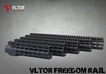 VLTOR Freedom Rail Free Floating AR15 Keymod One Piece Handguard