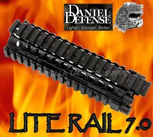 Daniel Defense Lite Rail 7.0 9.0 10.0 12.0 Free Float Quad Rail
