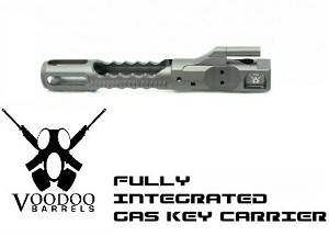 Voodoo VDI LifeCoat Integral Gas Key DI Low Mass Bolt Carrier
