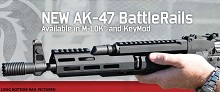 Troy AK47 Bottom Rail AK-47 MLOK M-LOK