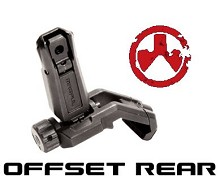 Magpul MBUS Pro Offset Sight Rear MAG526
