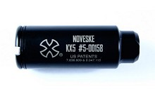 NOVESKE KX5 Flash Suppressor 5.56 AR15 7.62 6.8 AR10 Hider